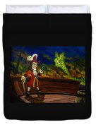 The Pirate And The Fairy Duvet Cover