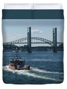 The Piscataqua River Duvet Cover