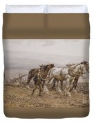 The Ploughman Wilmington Polegate Near Eastbourne Duvet Cover