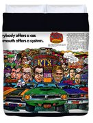 The Plymouth Rapid Transit System Duvet Cover