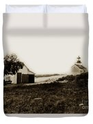 The Point Pinos Lighthouse Pacific Grove California Circa 1895 Duvet Cover