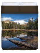 The Pond At Dana Meadow Duvet Cover
