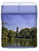The Pond - Central Park Duvet Cover