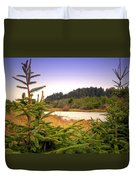 The Pond In The Forest Duvet Cover