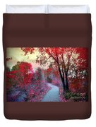 The Pondering Path Duvet Cover