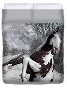 The Pony Express Duvet Cover