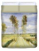 The Poplar Avenue Duvet Cover