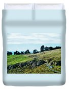 The Port Hills Duvet Cover
