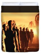 The Post Apocalyptic Gods Duvet Cover