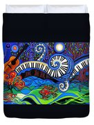 The Power Of Music Duvet Cover
