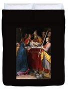 The Presentation In The Temple Duvet Cover