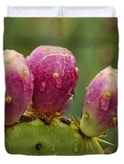 The Prickly Pear  Duvet Cover