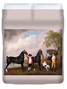 The Prince Of Wales Phaeton Duvet Cover