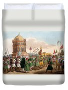 The Procession Of The Taziya, From The Duvet Cover