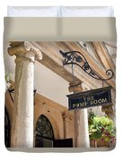 The Pump Room Duvet Cover