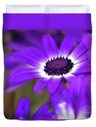 The Purple Daisy Duvet Cover
