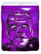 The Purple Monster Duvet Cover