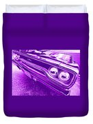 The Purple People Eater - 1970 Plymouth Gtx Duvet Cover