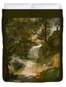The Pyrenees Duvet Cover