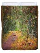 The Quiet Path Duvet Cover