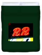 The R And R Duvet Cover
