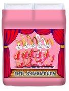 The Rabbettes Duvet Cover