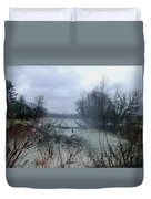 The Rains Came Duvet Cover