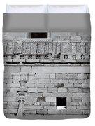 The Rajput Wall Duvet Cover