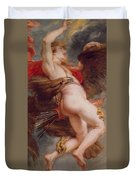The Rape Of Ganymede Duvet Cover
