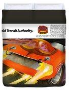 The Rapid Transit Authority Duvet Cover