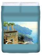 The Ravello Coastline Duvet Cover