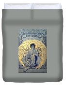 The Raven By Edgar Allan Poe Book Cover Duvet Cover