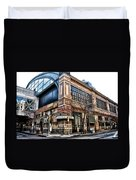The Reading Terminal Market Duvet Cover by Bill Cannon