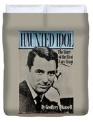 The Real Cary Grant Duvet Cover