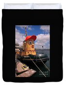 The Real Theodore Tug Boat Lives In Halifax Duvet Cover