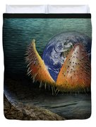 The Rebirth Of The Earth Duvet Cover
