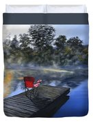 The Red Chair Duvet Cover