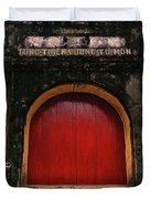 The Red Door Duvet Cover