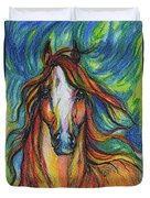 The Red Horse Duvet Cover