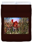 The Red House Duvet Cover