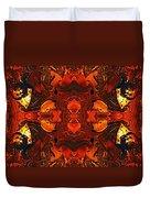The Red Light Duvet Cover