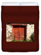 The Red Mill Door Duvet Cover