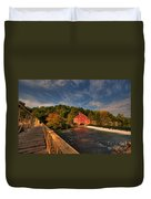 The Red Mill Duvet Cover