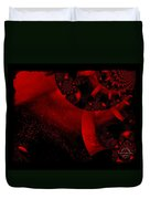 The Red Planet Cometh Duvet Cover