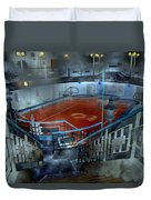 The Red Pool Duvet Cover