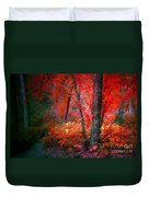 The Red Tree Duvet Cover