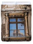 The Reflecting Castle Duvet Cover