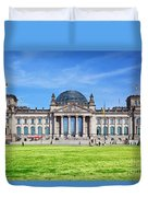 The Reichstag Building Berlin Germany Duvet Cover