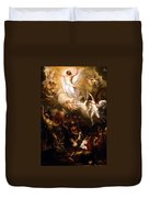 The Resurrection Duvet Cover by Munir Alawi