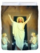 The Resurrection Of Christ By Carl Heinrich Bloch  Duvet Cover